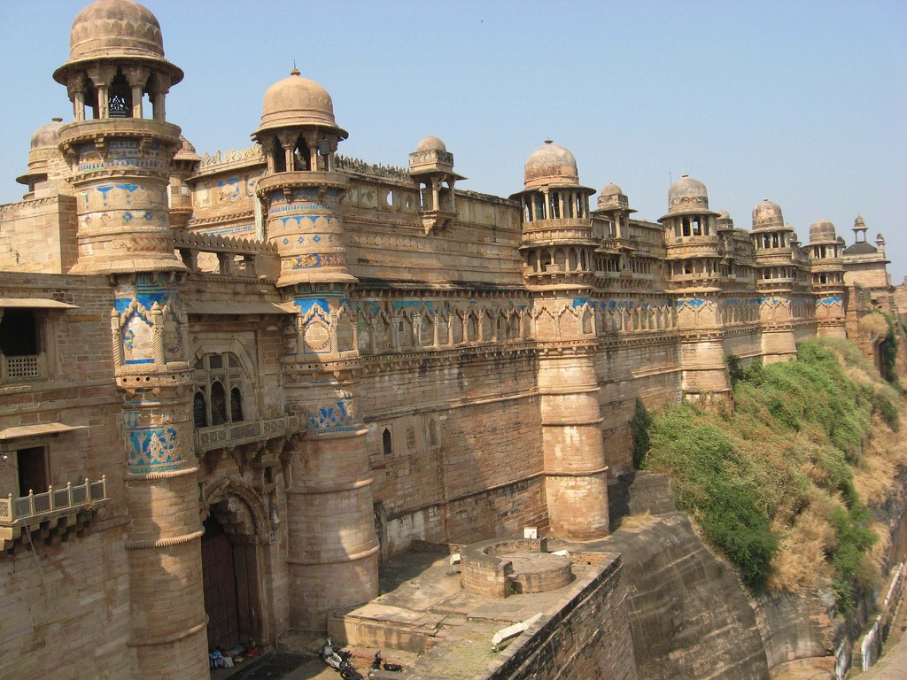 Gwalior-fort Forts and places of India