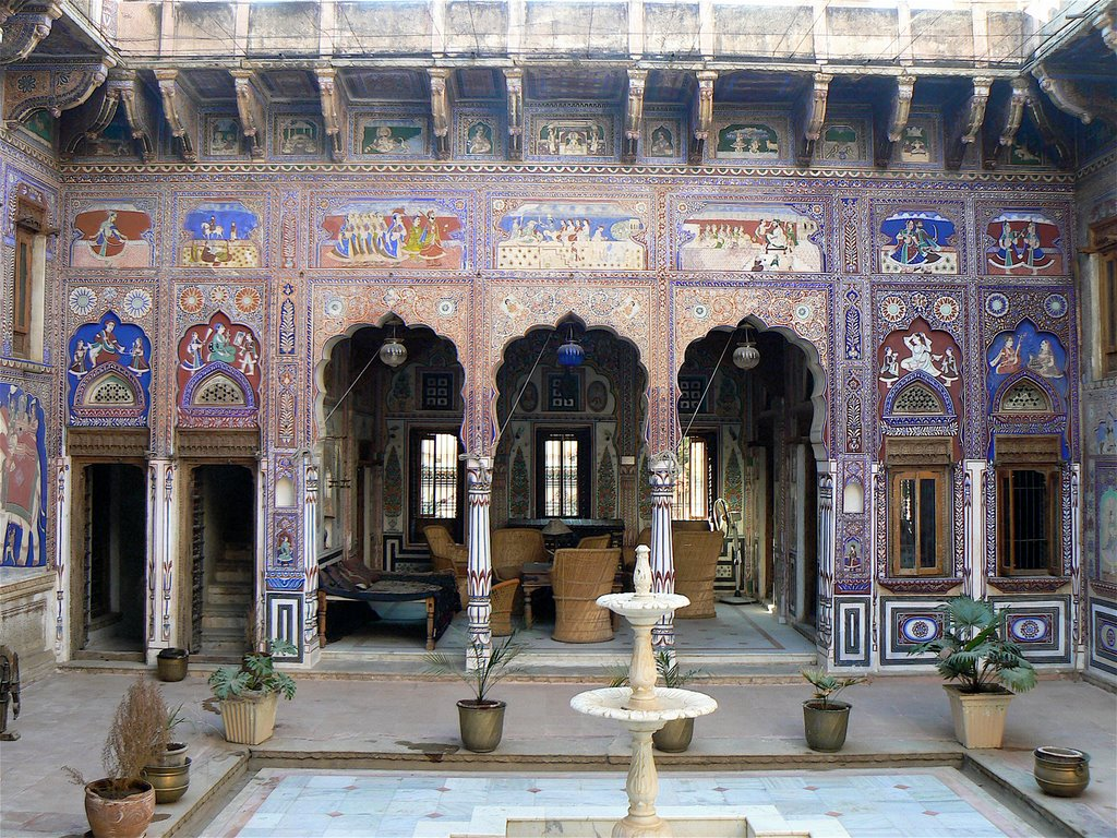 Haveli-in-Mandawa-Shekhawati Forts and places of India