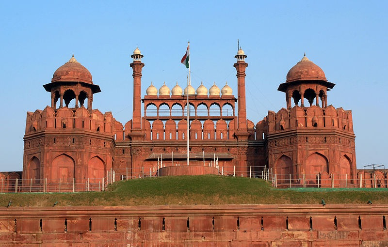 Red-fort-of-Delhi Forts and places of India