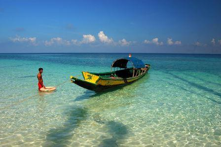 Havelock beach from our list of beaches in Andaman & Nicobar Islands