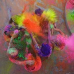 Holi, the festival of colors in India