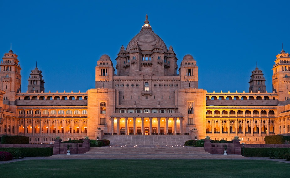 Umaid-Bhawan-Palace Forts and places of India
