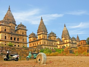 temples of Orchha among 5 best places to visit in Madhya Pradesh