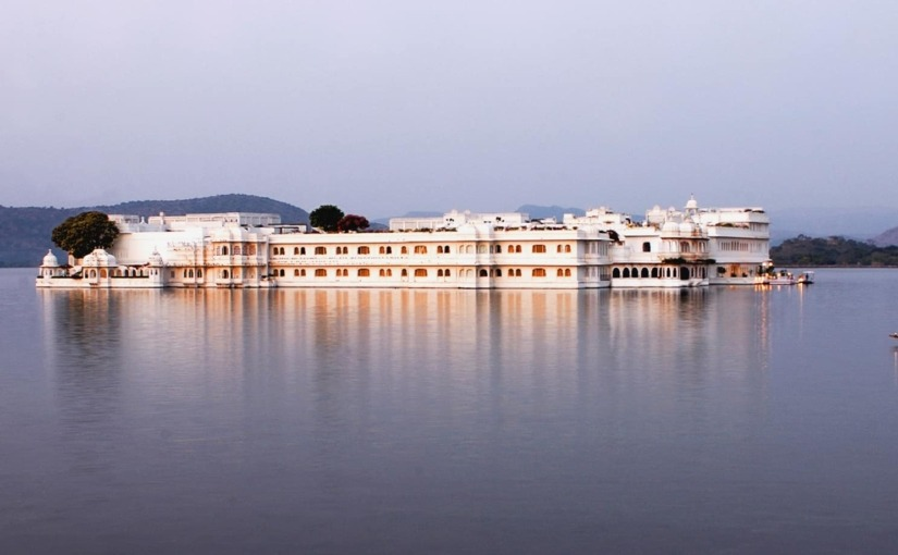 Taj Lake Palace in Udaipur