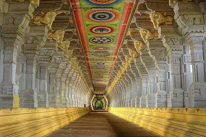 Ramnathswamy temple from our Rameshwaram travel guide