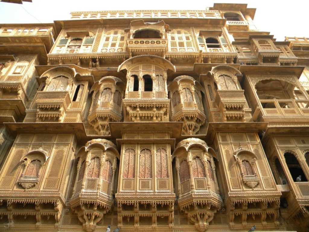 Havelis-in-Jaisalmer Best Forts and places of India