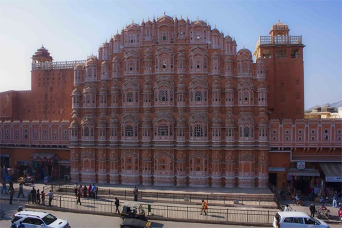 Wind Palace in Jaipur, the jewel of golden triangle tour of India